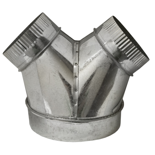 10x8x8 'Y' Duct Connector