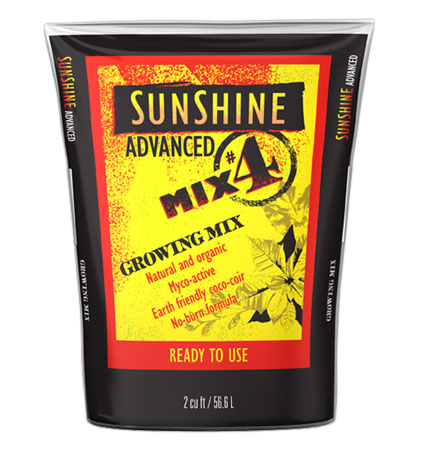 Sunshine Advanced Mix # 4 Loose 2 cu ft (40/Plt)