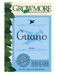 Grow More Seabird Guano 3lb (10/Cs)