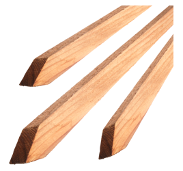 Bond Redwood Tree Stakes 1in x 1in x 4ft (Case of 25)