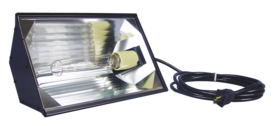 REEF OPTIX 1 - HORIZONTAL PENDANT MOGUL BASE REFLECTOR - 95% GERMAN REFLECTIVE ALUMINUM INTERIOR