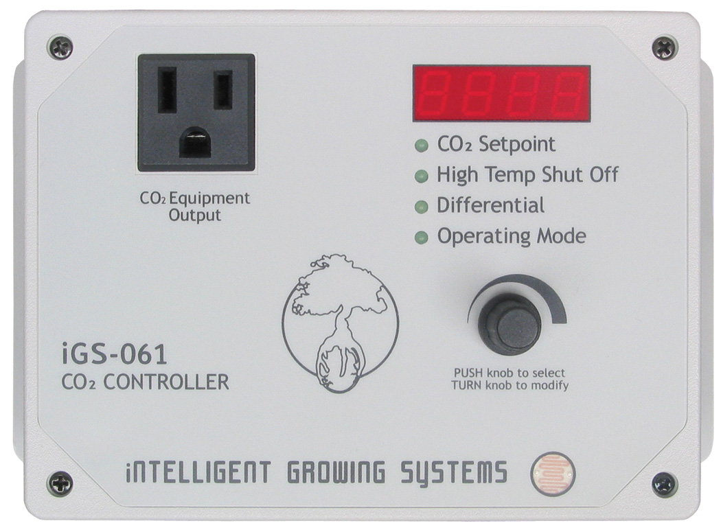 PNG IGS-061 CO2 CONTROL WITH HIGH TEMPERATURE SHUTOFF