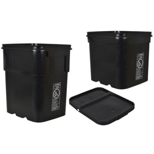 Ez stor container bucket 8 gallon 703990 pots containers gardening hydroponics store - Gallon bucket garden container ...