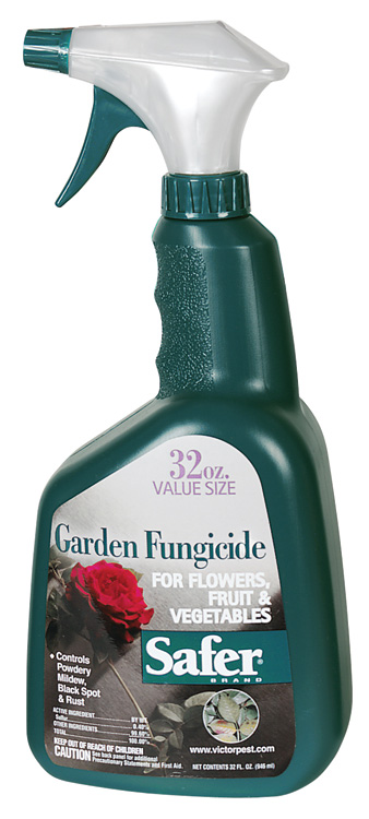 SAFER® BRAND GARDEN FUNGICIDE - 32OZ RTU (12/CASE)