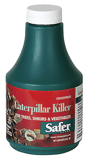 SAFER® BRAND CATERPILLAR KILLER CONCENTRATE WITH B.T. - 8OZ  (6/CASE)