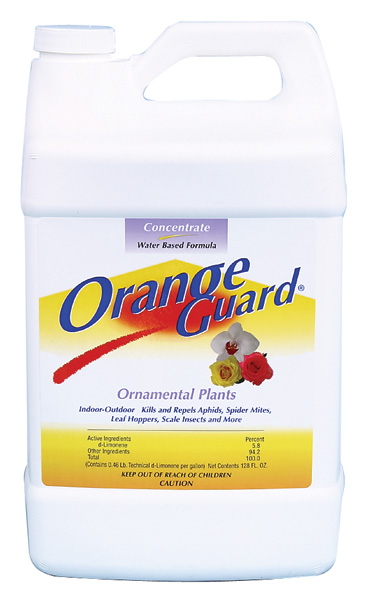 ORANGE GUARD� ORNAMENTAL INSECTACIDE OMRI LISTED - GALLON (4/CASE)