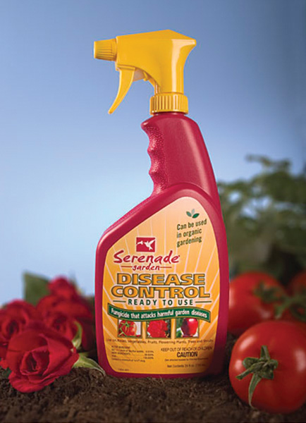 SERENADE� GARDEN DISEASE CONTROL OMRI LISTED - 32 OZ RTU (6/CS)