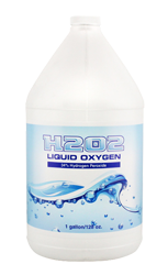 H2O2 Liquid Oxygen 34% Gallon (Case of 4)