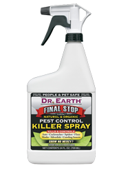 DR EARTH PEST CONTROL KILLER SPRAY RTU 24OZ