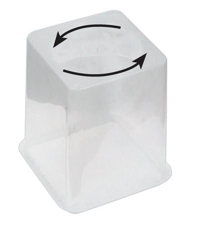 Flo-n-Gro Clear Vented Lid for Bucket System