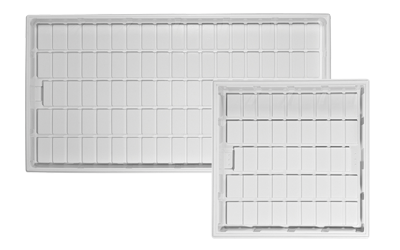 Duralastic 4ft x 8ft ID White Tray