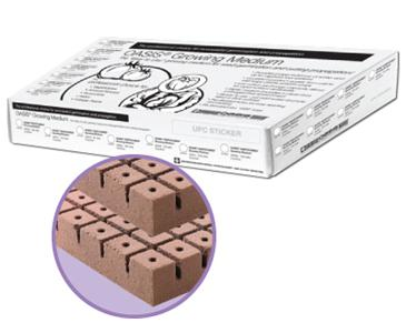 "SMITHERS OASIS® ROOTCUBES® 5010 RETAIL PACK - 1 1/4"" MEDIUM - 104 CELLS PER SHEET - 8X13, 2 SHEETS PER BOX, 208 CELLS PER BOX, ("