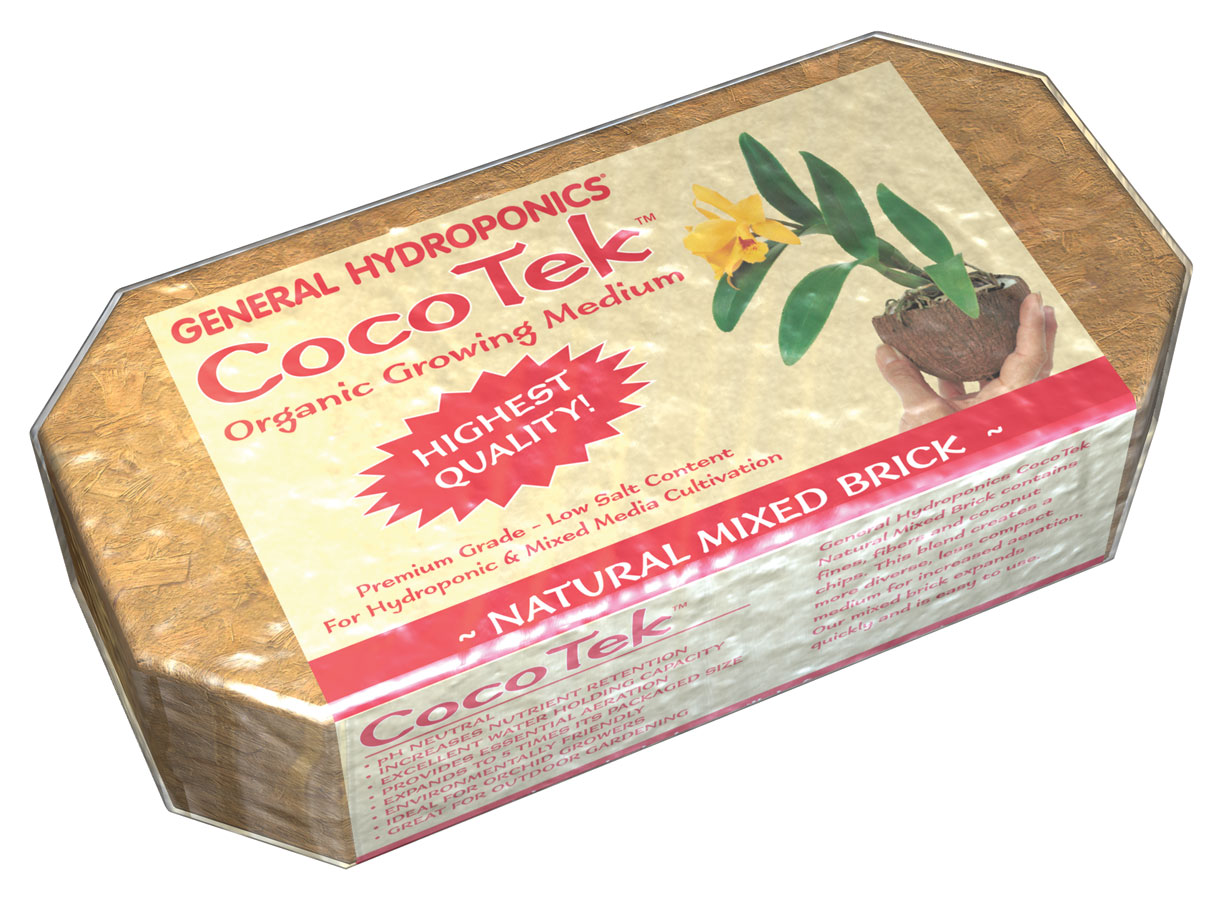 GHBB� COCOTEK� NATURAL MIXED BRICK (24/CASE)