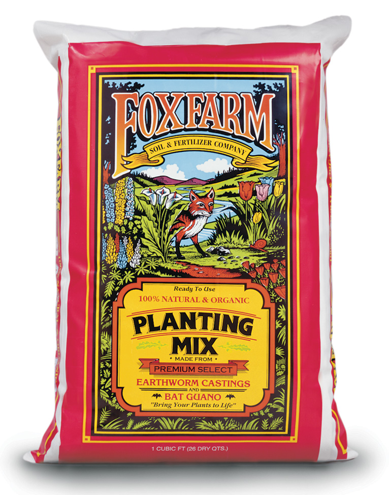 FOX FARM ORIGINAL PLANTING MIX 1 CU FT 24 LBS (75/PALLET)