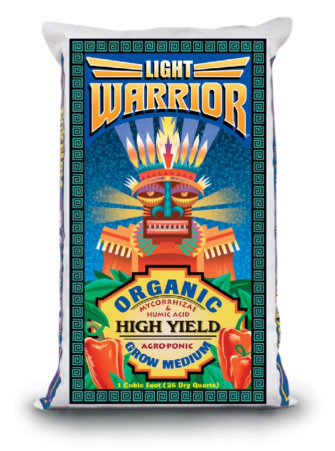 FOX FARM LIGHT WARRIOR� SOIL 1 CU FT 11.5 LBS (75/PALLET)