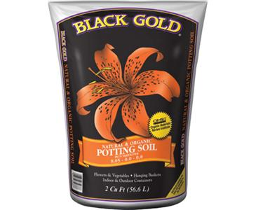 BLACK GOLD ALL ORGANIC POTTING SOIL 1.5 cu ft (50/pallet)