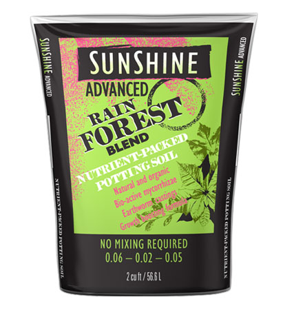 Sunshine Advanced Rain Forest - 2 Cu. Ft.