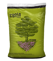 ROOTS ORGANICS BIG WORM 1 cu ft (60/PALLET)