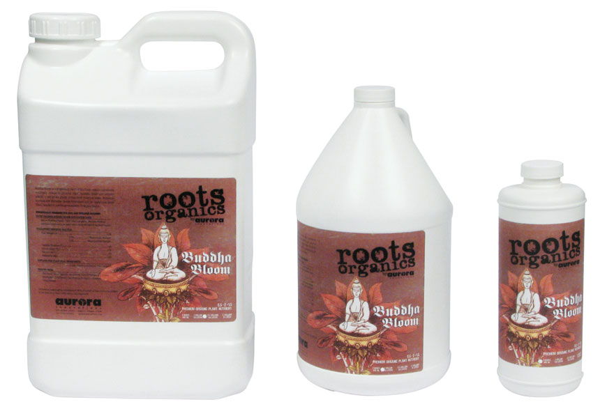 ROOTS ORGANICS BUDDHA BLOOM 0.5-2-1.5 - 5 GALLON (1/CASE) - (SPECIAL ORDER ONLY)