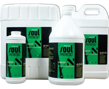 AI ROOTS ORGANICS SOUL SYNTHETICS GROW 'N' 8-0-0 - QUART (12/CASE)