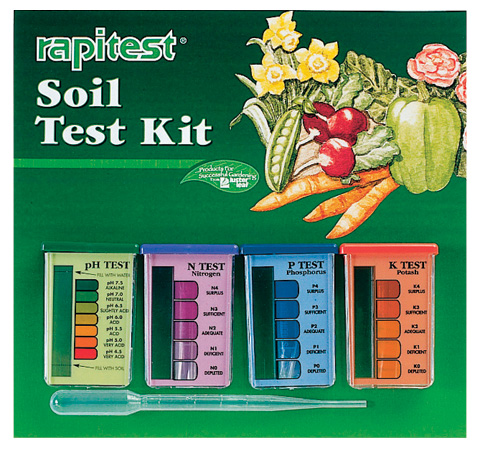 RAPITEST SOIL TEST pH NPK