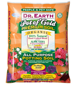 DR. EARTH� POT OF GOLD POTTING MIX - 1.5 CF -  - (56/PALLET) LESS THAN FULL PALLET