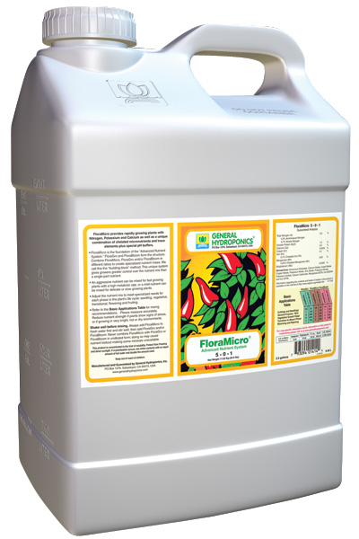 GHBB® FLORA MICRO™ 2.5 GALLON  (2/CASE)