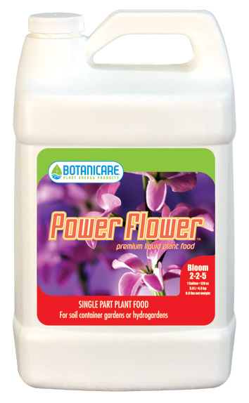 BOTANICARE� POWER FLOWER� GALLON (4/CASE)