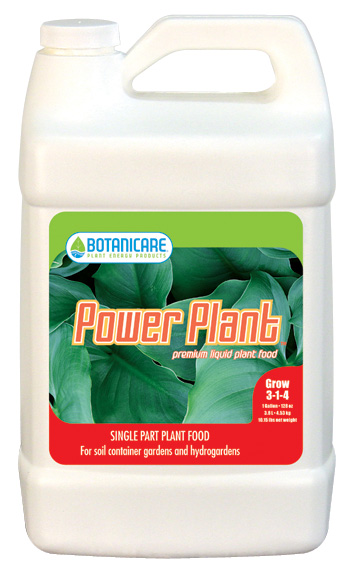 BOTANICARE® POWER PLANT™ GALLONS (4/CASE)