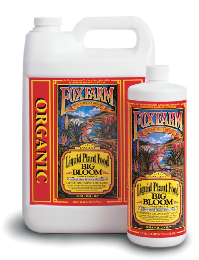 FOX FARM BIG BLOOM™ 0-4-0 QUART (12/CASE)