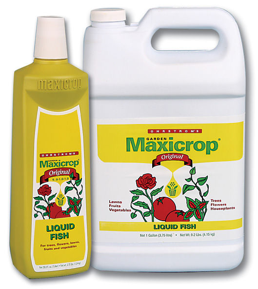 MAXICROP� FISH 5.0-1.0-1.0 - QUART (12/CASE)