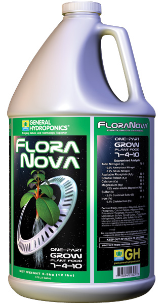 GHBB� FLORANOVA� GROW GALLON (4/CASE)