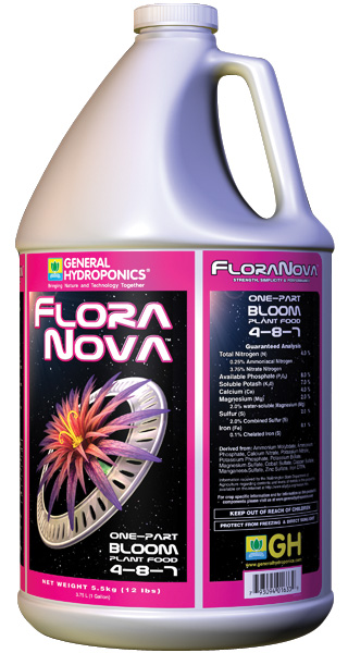GHBB� FLORANOVA� BLOOM GALLON (4/CASE