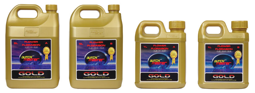 DUTCH MASTER� GOLD FLOWER B 0.5-1-3.5  - 1.32 GALLON (2 x 5L/CASE)
