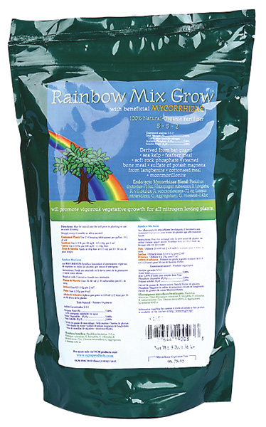 ANCIENT ORGANICS® RAINBOW MIX GROW 5-5-2 - 3LB (12/CASE)