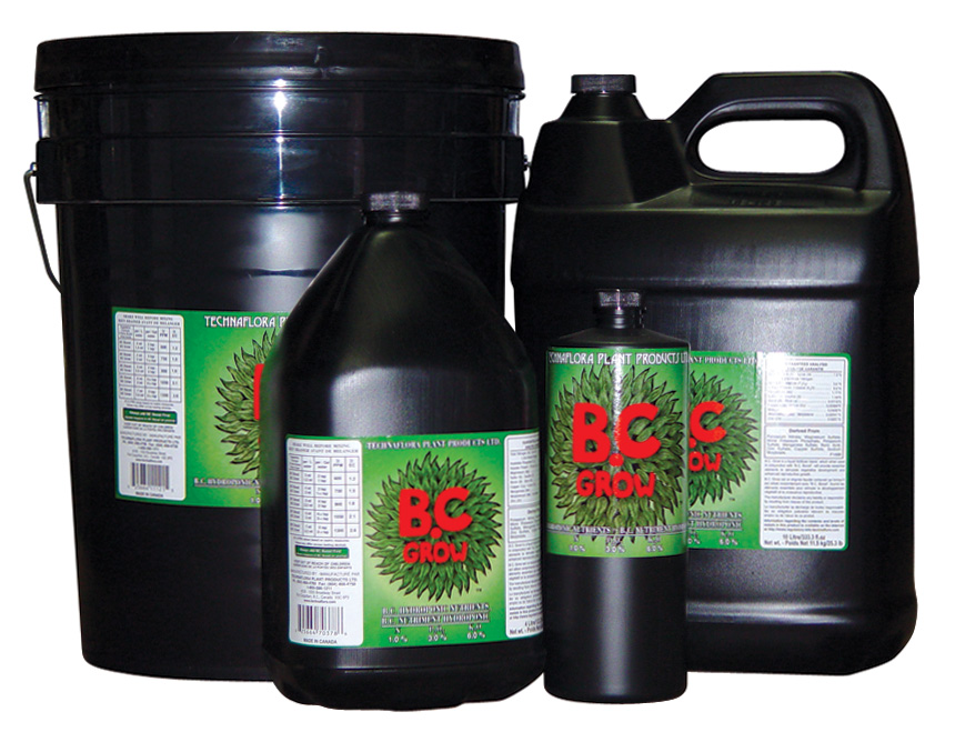 TECHNAFLORA® B.C. GROW 1-3-6 - 1 LTR. (12/CASE)
