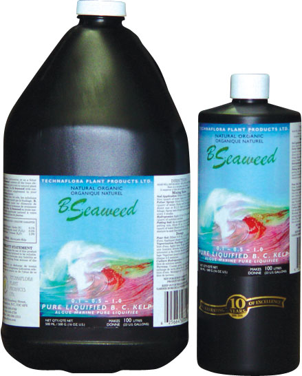 TECHNAFLORA® B. SEAWEED 0.1-0.5-1.0 - OMRI LISTED 1 LTR. (12/CASE)