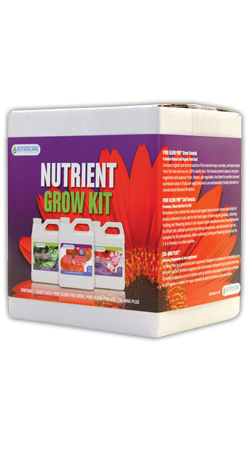 BOTANICARE� GRAB & GROW NUTRIENT GROW KIT TRI-PACK