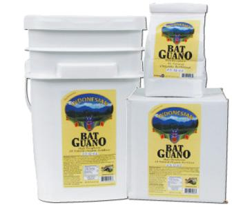 SUNLEAVES� INDONESIAN BAT GUANO - 44 LB (1/CASE) 0.5-12-0.2