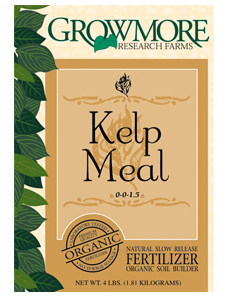 Grow More Kelp Meal 3lb (10/Cs)