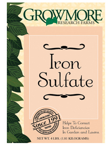 Grow More Iron Sulfate 4lb (10/Cs)