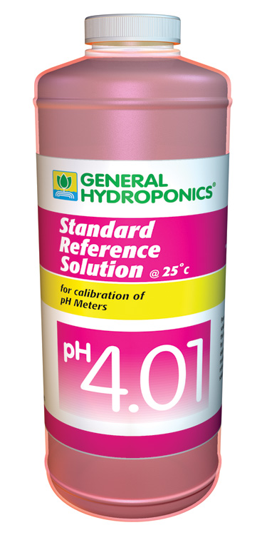 pH 4.01 CAL SOLUTION 8OZ (12/CASE)