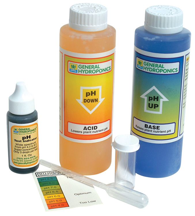 pH CONTROL KIT (12/CASE)