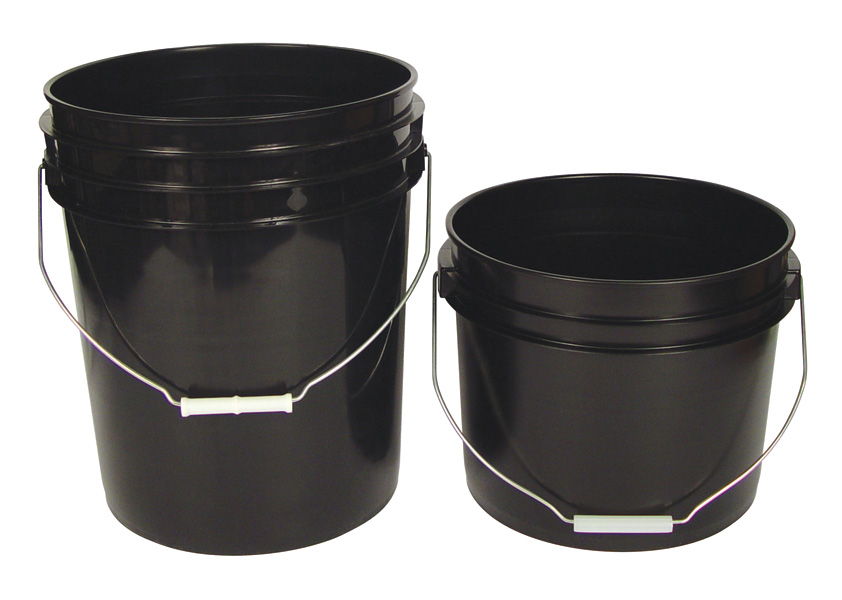 5 GALLON PLASTIC BUCKET 2 LBS (288 PER PALLET) EACH