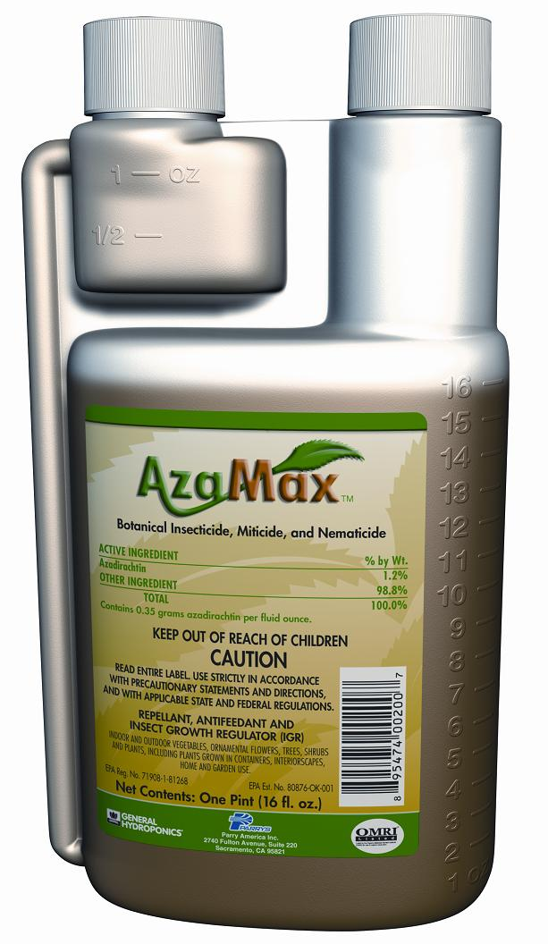 GH AZAMAX� NATURAL PEST CONTROL 4 OZ (24/CASE) - OMRI LISTED