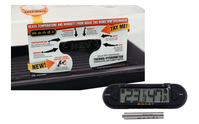 MINI GREENHOUSE THERMO-HYGROMETER