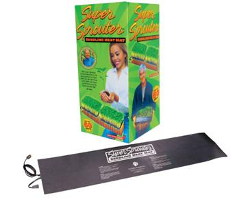 SUPER SPROUTER 2 TRAY SEEDLING HEAT MAT