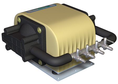 Dual Diaphragm Air Pump 320 GPH (8/Cs)