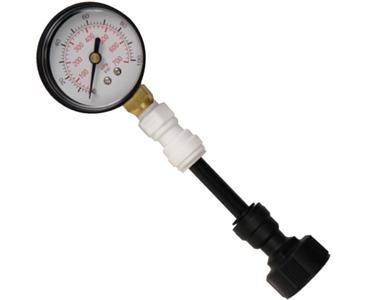 PRESS GAUGE GARDEN HOSE CONNECT (Special Order)