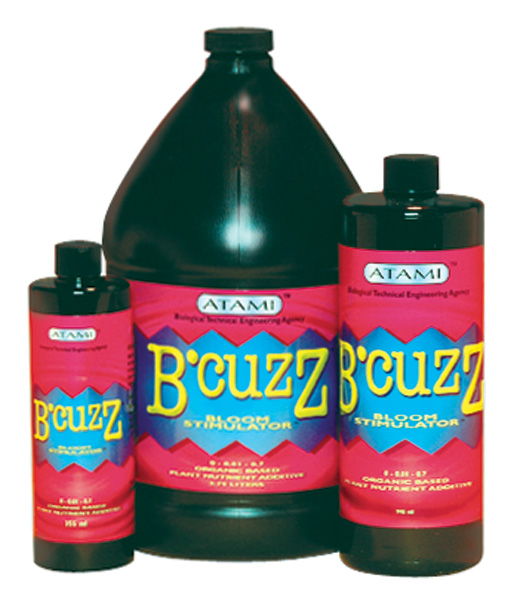 B'CUZZ� BLOOM 0-0-0.7 - 12 OZ (12/CASE)
